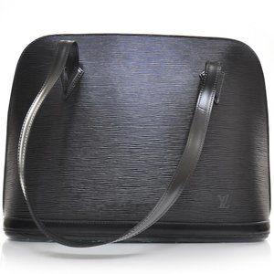 Authentic Louis Vuitton Lussac Epi Leather Tote